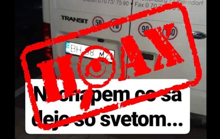 Polícia vyvracia hoax: Na Horehroní neunáša ľudí žiadna dodávka